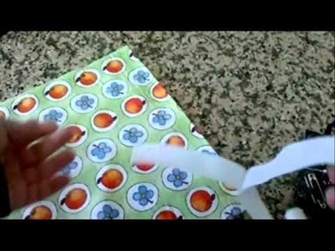 Diy manualidades como hacer una bolsa para la ropa - Como hacer una colcha de tela ...