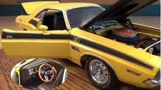 1-24 1//18 SCALE 1970 DODGE CHALLENGER R//T COUPE YCID//HWY61 FREE S//H