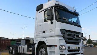 Mercedes Actros 2544 продажа. Обзор грузовика контейнеровоза.(http://panzerauto.ru/p39693379-mercedes-benz-actros.html - цена и спецификация контейнеровоза. Mercedes-Benz Actros 2544 LL - без пробега по ..., 2014-07-24T14:45:23.000Z)