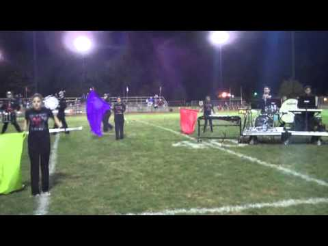 Roselle Park High School Marching Band- Bird Show -Part 1- 9-14-13