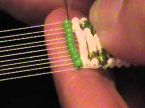 Starting Amp Ending Thread On A Bead Loom Youtube