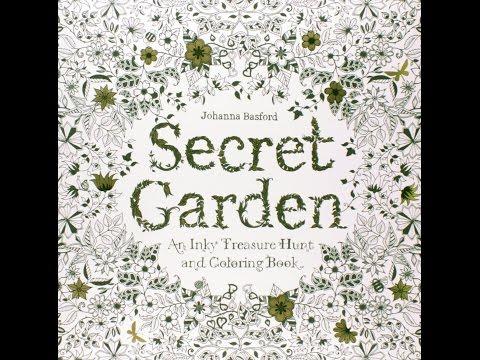 - Flip Through Secret Garden Coloring Book By Johanna Basford - YouTube