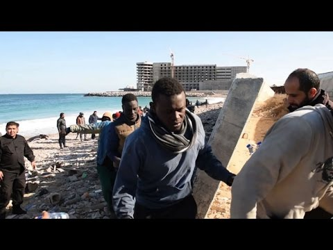 Tragic end for migrants who thought they'd reached Italy