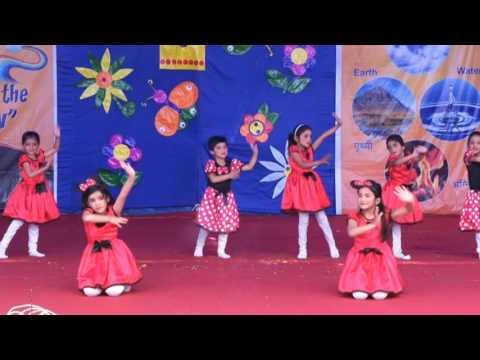 GROUP DANCE BY GIRLS & BOYS -SAN MARINO PUBLIC SCHOOL,INDORE