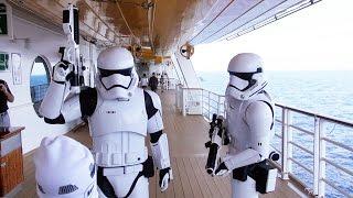 First Order Stormtrooper Patrol on Star Wars Day at Sea, Disney Fantasy Cruise