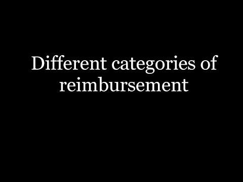 Reimbursement methods