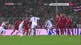 Worst Free-Kick Ever? Michel Bastos Free-Kick vs Bayern München