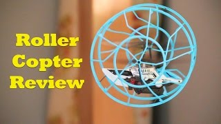 Roller Copter By Air Hogs, Heli That Climbs Walls.  Full Review
