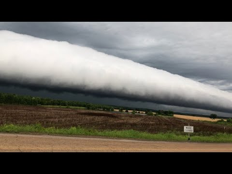 Seven weird weather phenomenons spotted in 2018