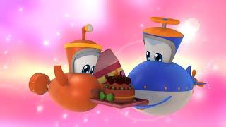 Мультфильмы - Марин и его друзья - Подводные истории -  Торт! Торт!