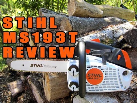 Stihl MS193T Chainsaw Review  YouTube