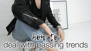 Capsule wardrobe: how to deal with passing trends!