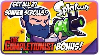 How To Get ALL Sunken Scrolls in Splatoon - The Completion Bonus