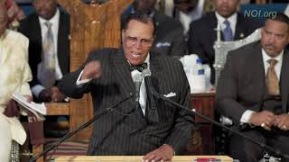 Farrakhan speaks on Aretha Franklin's Funeral, Ariana Grande, and Christianity!