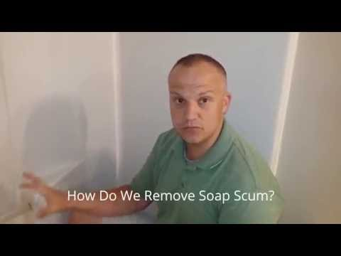 How Do I Clean Soap Scum on My Bathtub?