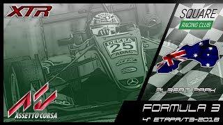 Square Racing Club Formula 3 @ Albert Park - 4ª Etapa T3/2018