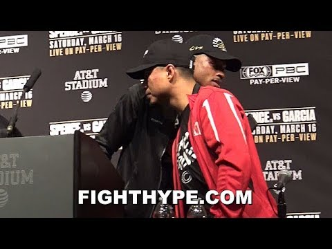 ERROL SPENCE VS. MIKEY GARCIA FULL POST-FIGHT PRESS CONFERENCE