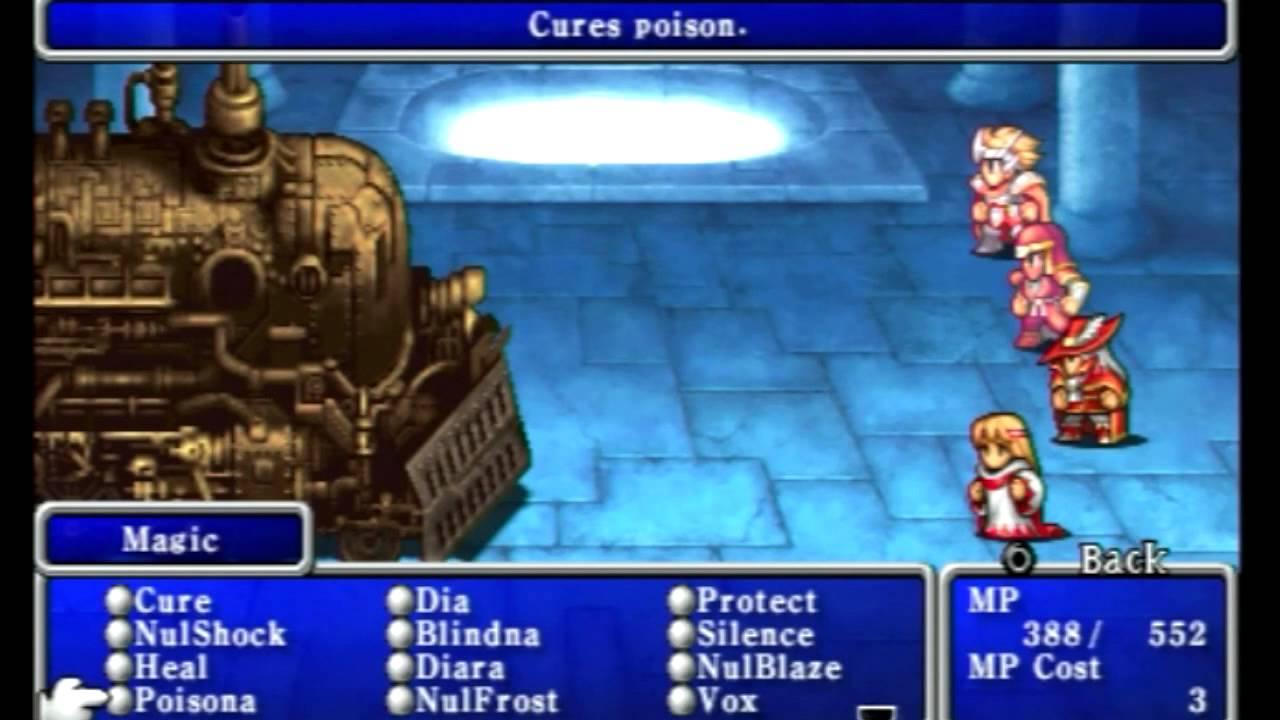 Let\'s Play Final Fantasy 1 (Dawn of Souls) Walkthrough Part 23 ...