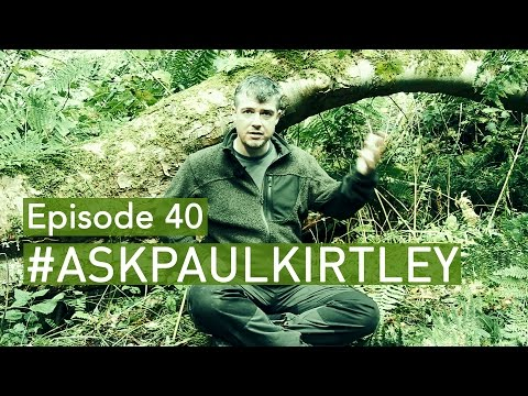 ONE Thing For Survival, Learning Fungi, Oak Bark Tinder, Knots & Lashings | #AskPaulKirtley 40