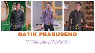 kemeja batik pria lengan pendek slimfit katun premium batik jagad muda prabuseno baju batik seragam kantor modern