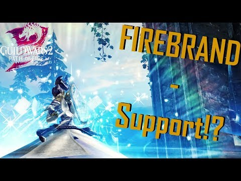 Guild Wars 2: Path of Fire - The Firebrand Healer l Firebrand PvP Gameplay/Guide