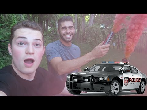 I GOT THE COPS CALLED ON ME!?! INSANE SMOKE GRENADE!
