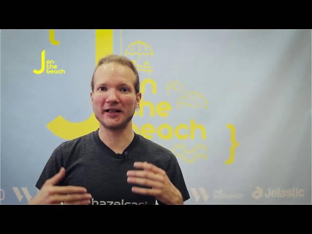 Christoph Engelbert from Hazelcast Interview - JOTB16
