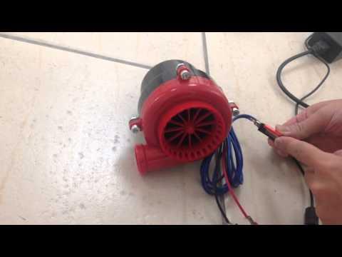 DC 12V Red Turbo Sound Maker Center Horn Car Truck Accelerator Pedal Siren Bike
