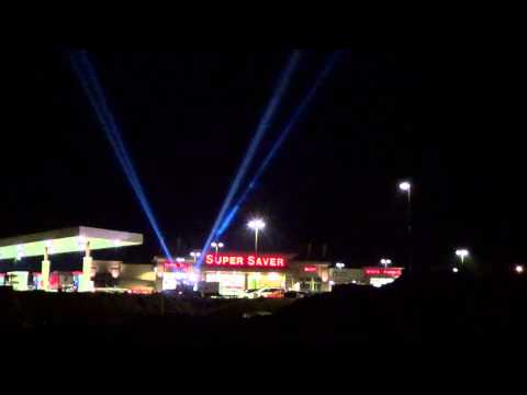 Searchlights Lincoln NE - Skybeam Searchlights - Super Saver Grand Opening