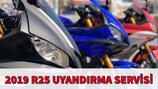 2019 Yamaha R25 Vlog / 2 adet R25 1adet  XMAX300 Uyandırma Servisii / Motor İncelemeleri