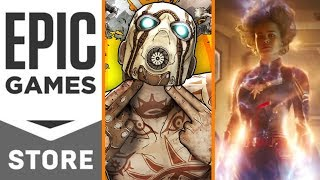 Epic Announces Digital Games Store + Gearbox Teases Borderlands 3 + New Captain Marvel Trailer