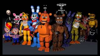 Cinema 4d Fnaf 2 Toy Animatronics From Youtube - The Fastest
