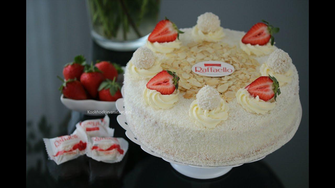 Ferrero Raffaello Cake