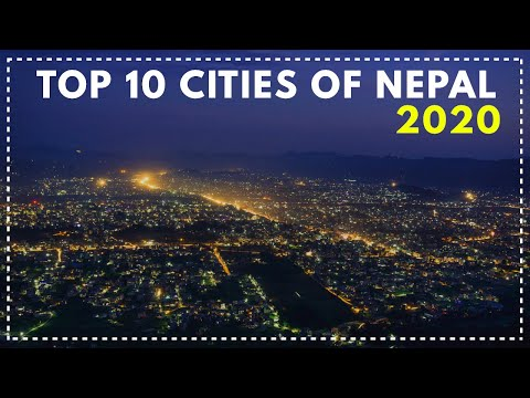 Top 10 Cities of Nepal ।। Population । District । Zone ।। Sudin Subedi  II   सुदिन सुबेदी