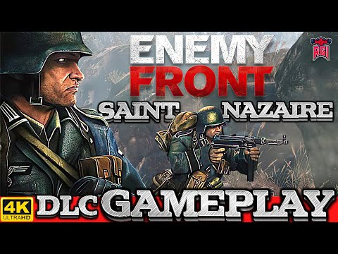Enemy Front (PC)(2014) DLC - Saint Nazaire Full Gameplay in 4K / 60fps #RETRO GAMING INDIAN |