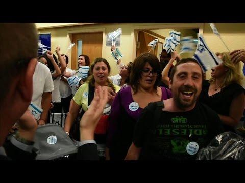 French Jewish immigrants arrive in Israel amid Gaza crisis