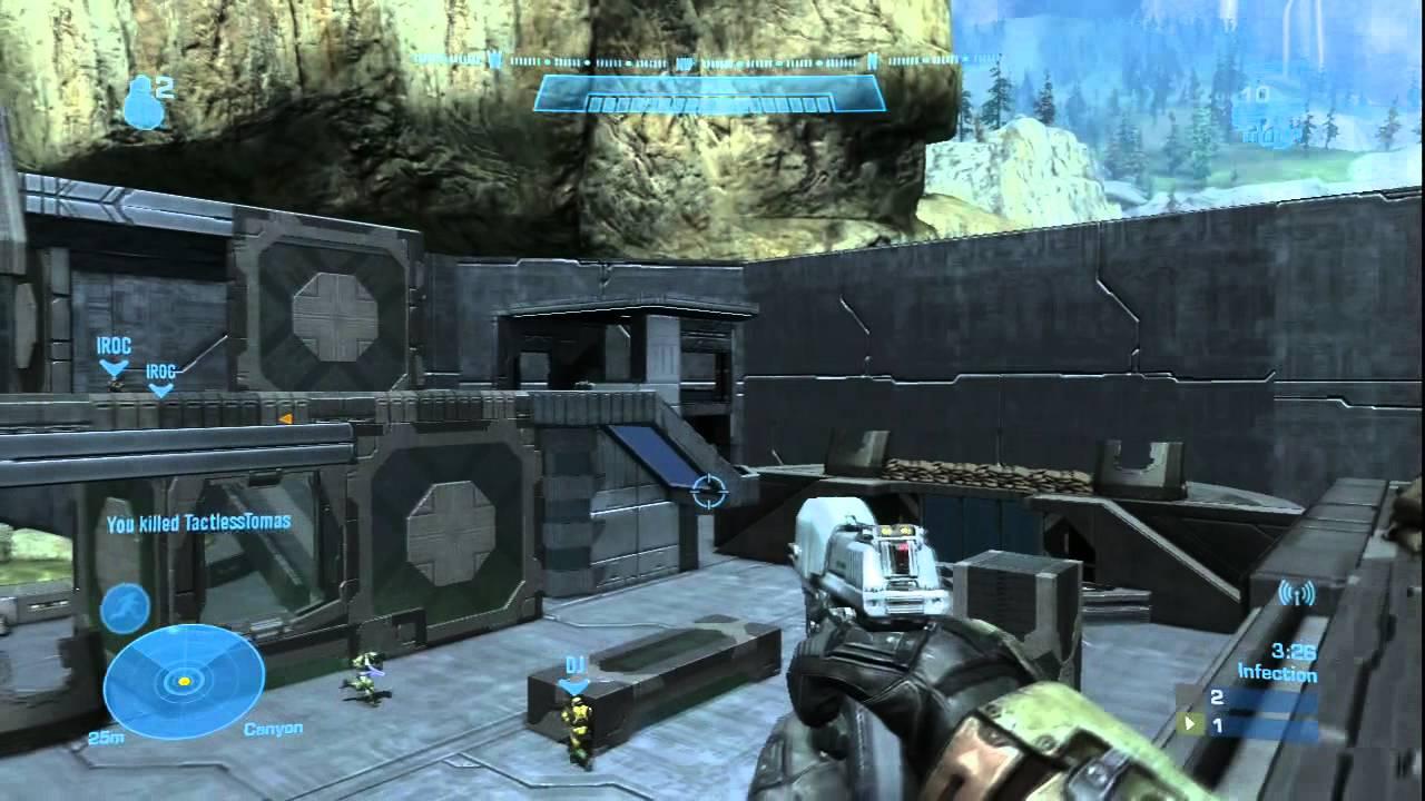 Halo Reach Forge Map: Beach Town