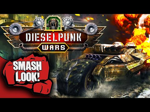 Crossout And TerraTech Make The Ultimate Combination In Dieselpunk Wars - Smash Look!