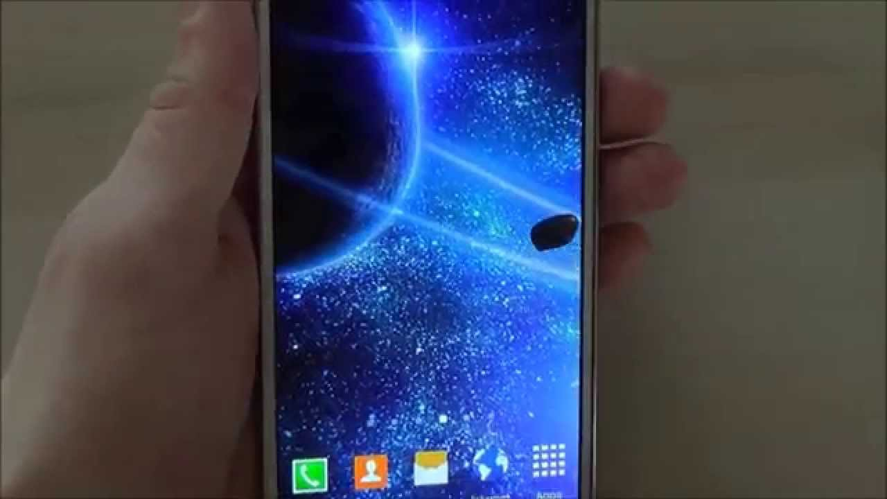Free 3D HD space live wallpaper for Android phones and tablets - YouTube