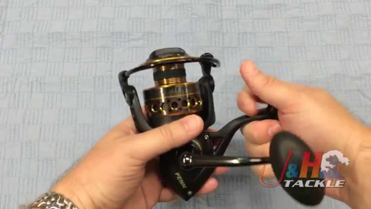 Penn Battle II BTLII5000 Spinning Reels   J&H Tackle