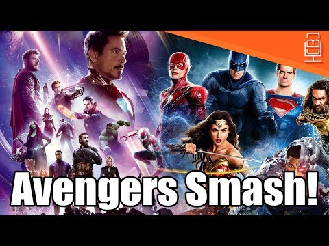 Avengers Smashes Justice League Opening Weekend in 1 Day