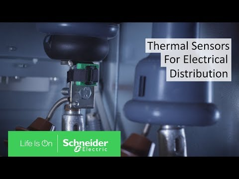 Thermal Sensors Help Detect Faults in Power System Electrical Connections | Schneider Electric