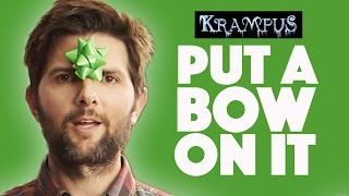 Gift Wrapping Tips With Adam Scott // Presented by BuzzFeed & Krampus