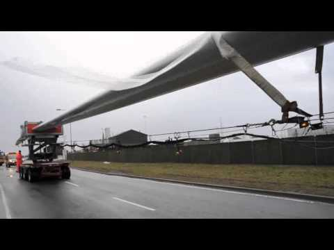 World's longest blade produced by LM Wind Power off to France