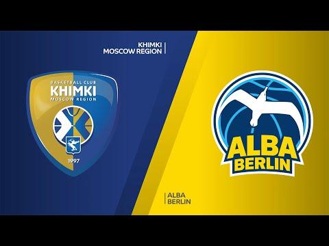 Khimki Moscow Region - ALBA Berlin Highlights   Turkish Airlines EuroLeague, RS Round 28