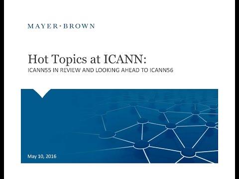 Webinar: Key Takeaways from ICANN 55