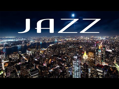 Smooth Jazz In The Night - Smooth JAZZ &  Lights of Night City - Night Traffic JAZZ