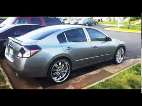 Nissan Altima On 22 S Project Kola Youtube