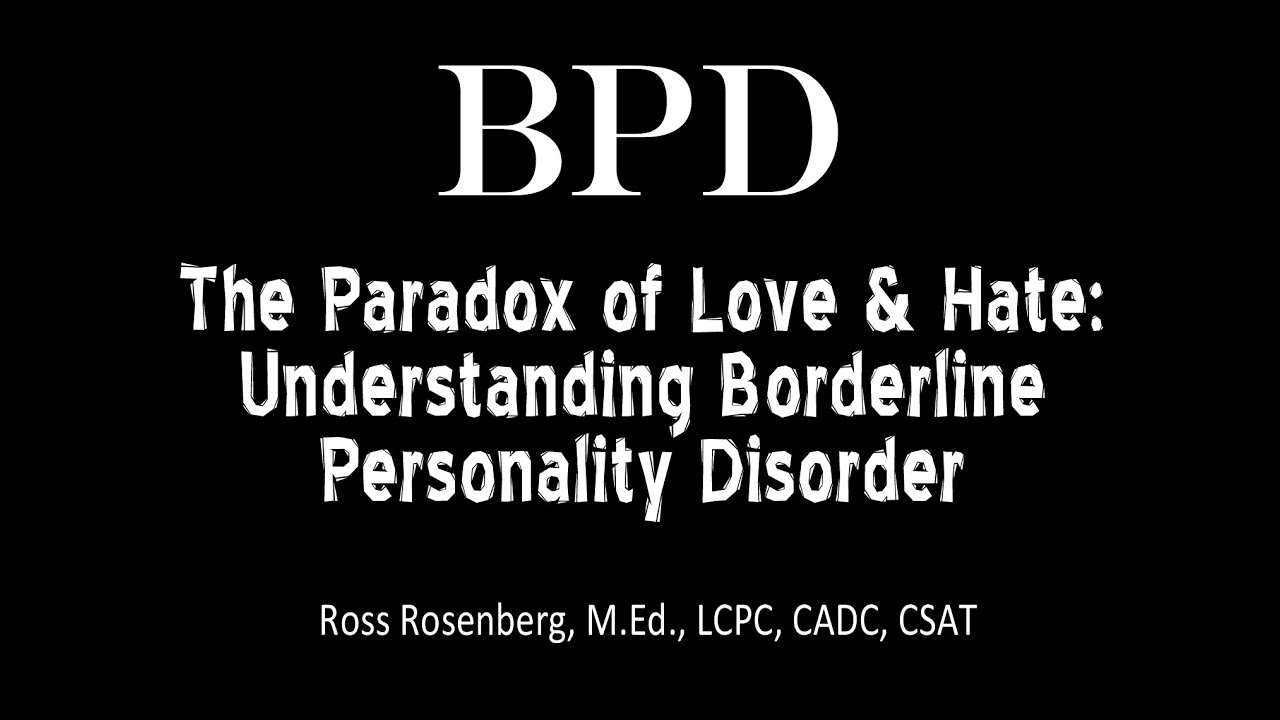 Am i love someone personality disorder