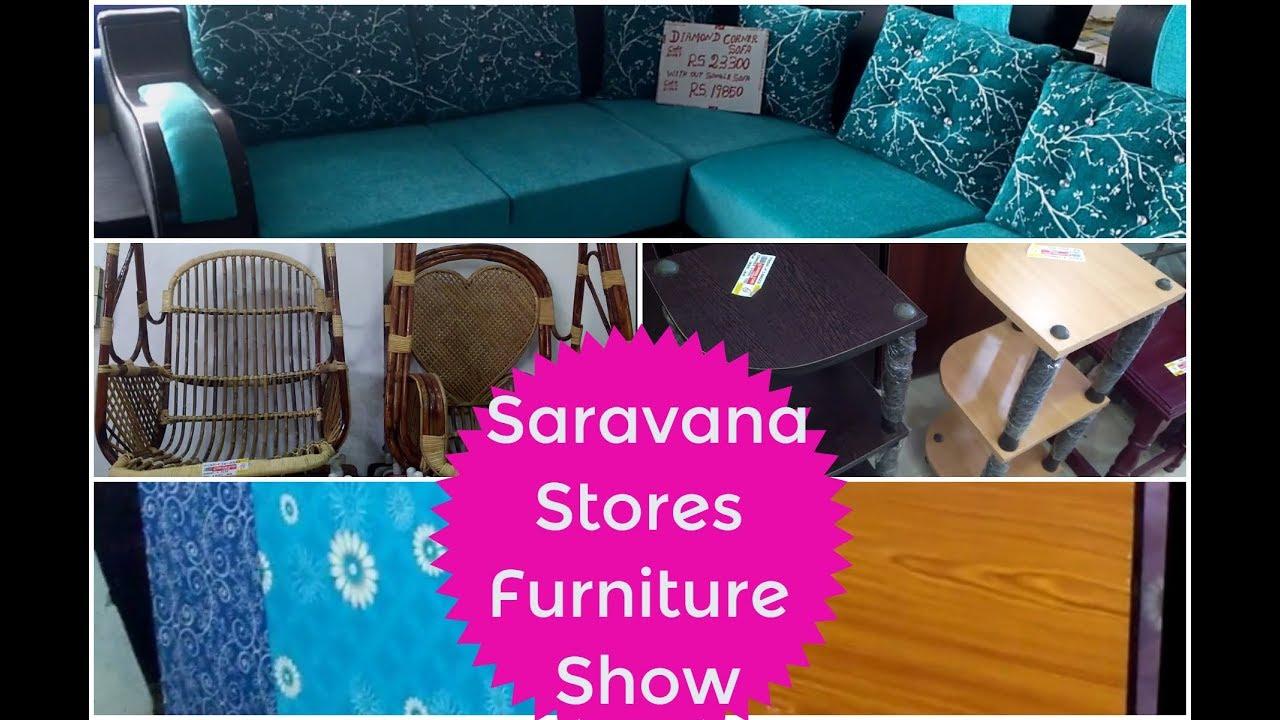 Saravana Stores Furniture Show Eshu Samayalarai Youtube